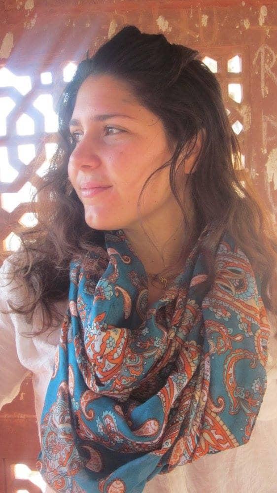 photo profile aurore guerrier l'histoire de Prayana Yoga